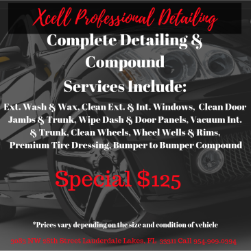 Xcell Professional Detailing Services